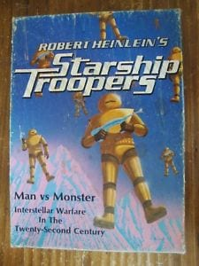 Science fiction become reality Robert A Heineln Starship troopers
