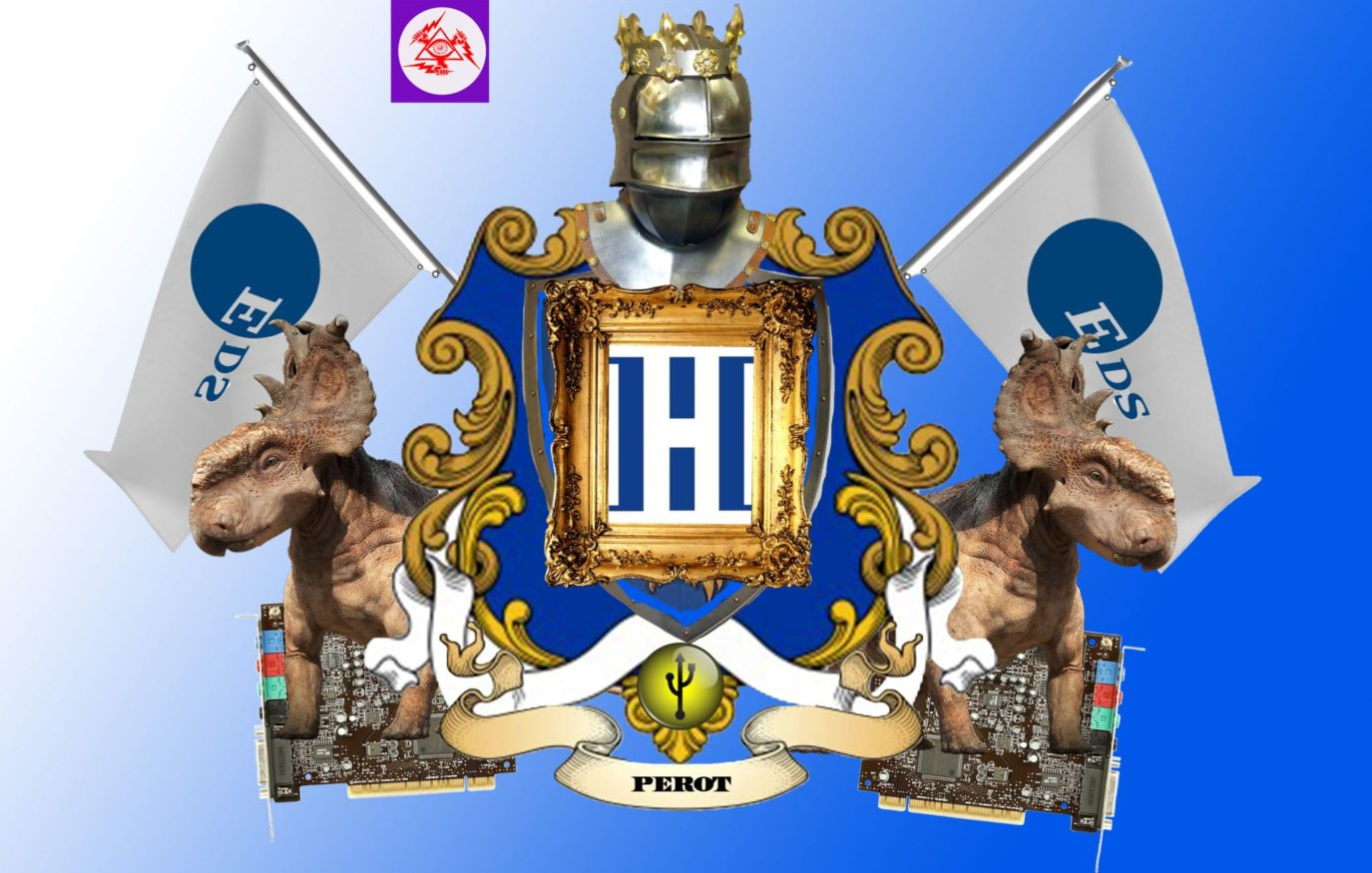 Ross Perot Coat of Arms and Awards