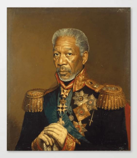 Famous Celebrity portrait