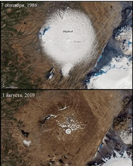 dead ice glacier